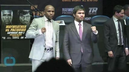 Mayweather/Paciaquo Fight -- New WBC Belt Unveiled ... $1 Million Swag!!