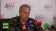 Ukraine: 'Kiev forces attempted to storm Gorlovka' - DPR Def. Minister