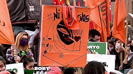 Argentina: Hundreds demand legalisation of abortion in Buenos Aires