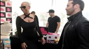 Amber Rose and Blac Chyna Demonstrate Amateur Gynecology
