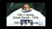 Рекорд За Най - Много Облечени Тениски