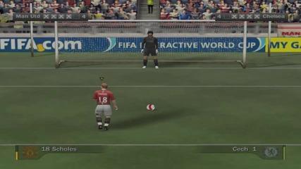 Fifa 08 - Дуспи - Ман Юнайтед - Челси