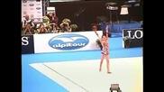Боянка Ангелова - художесвена гимнастика. Браво златно момиче!