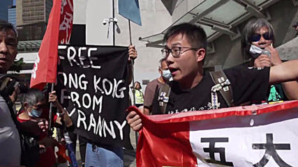 Hong Kong: Protesters rally as Carrie Lam cancels policy address