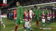 Чехия - България 0:0 Най - доброто от мача
