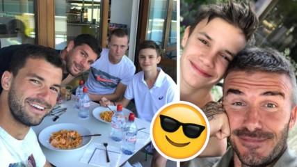 Всички обичат Гришо! Син на спортна звезда се хвали със снимка с него!