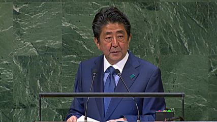 UN: Japanese PM Abe open to meeting with Kim Jong-un