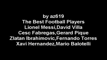 The Best Football Players by az619