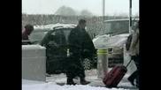 Снежен хаос във Великобритания