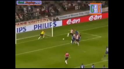 Манолев с първи гол за Псв
