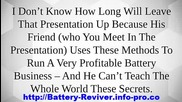 Recondition Nicad Battery, Recondition Laptop Battery, Magnesium Sulfate Battery Reconditioning