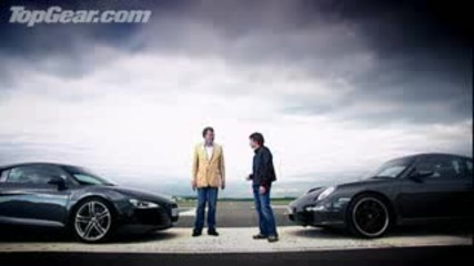 Audi R8 Car Review vs Porsche 911 Carrera