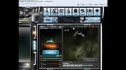 Dark Orbit - Phoenix vs Boss Kristallon -by Sng