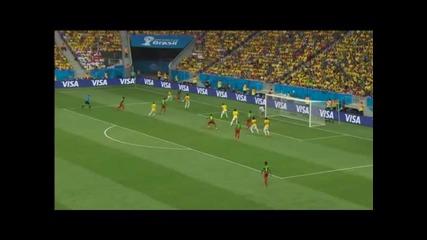 Камерун 1:4 Бразилия ( 23.юни.2014)