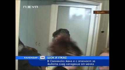 Мечка нападна и жестоко нахапа жена