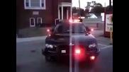 Полицейската кола на 50 Cent