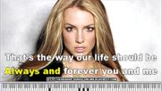 Britney Spears - Born To Make You Happy Karaoke