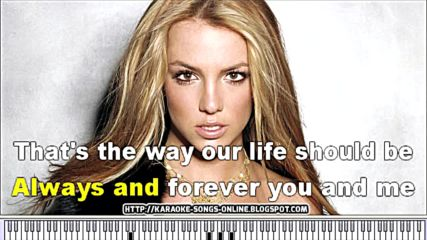 Britney Spears - Born To Make You Happy Karaoke