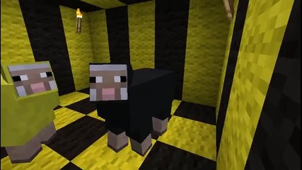 Minecraft Пародия На Песен - Wiz Khalifa - Black and Yellow