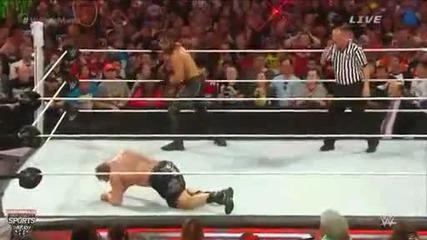 Леснар или Рейнс ? Кой искате да спечели титлата от Сет Ролинс на Extreme Rules 2015 ??