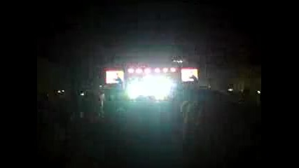 Skiller Beatbox live Coca-colla energy tour concert 2011