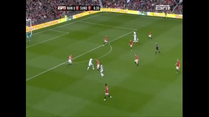 Man Utd 0 - 1 Sunderland - D. Bent