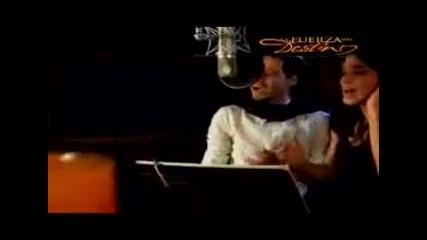 Marc Anthony feat. Sandra Echeverria - La Fuerza Del Destino 2011 ( Превод )
