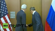 UN: Lavrov and Kerry discuss Syria, Middle East on sidelines of UNGA