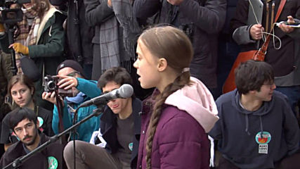 Switzerland: Thunberg joins climate protest in Lausanne ahead of Davos summit