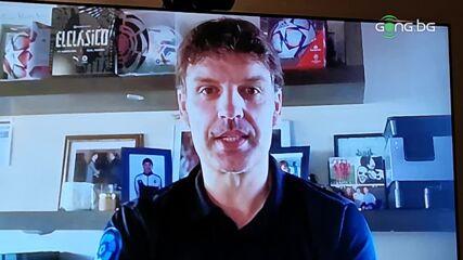 Мориентес за спомените му от мача срещу България от Световното през 1998