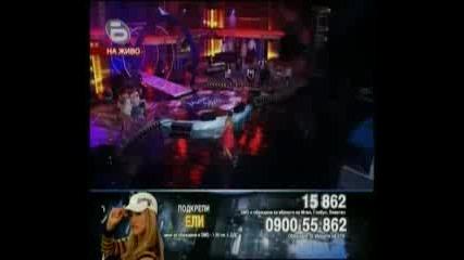 Music Idol 3 - 21.04.09г. - Концерта на Застрашените - Ели Раданова!