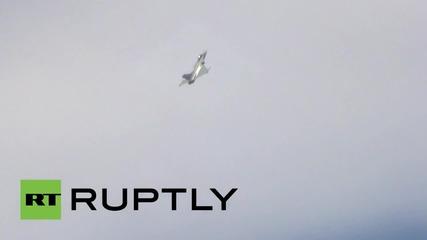 France: Spectacular Dassault Rafale fighter jet glides over Paris Air Show