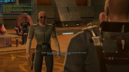 The Old Republic - Imperial Agent starting zone playthrough - part 1 - 1