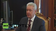 "Russia: ""Less than one percent unemployed"" - Moscow Mayor tells Putin"