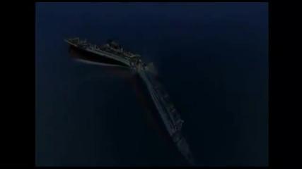 Потъването на Титаник - анимация