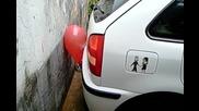Смях!! | Ето Така Се Кара На 3адна | Щур Паркинг Сензор На Кола За Еднократна Употреба |