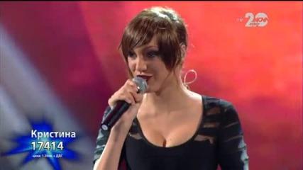 Кристина Дончева - X Factor Live (04.11.2014)