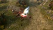 Diablo III Barbarian Attacks!