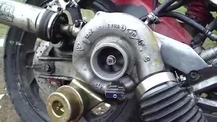 Турбо на мотор