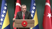 Turkey: Erdogan says recalling troops from Iraq is 'out of the question'