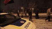 Ukraine: Torchlight processions marks 2 years since Euromaidan escalation