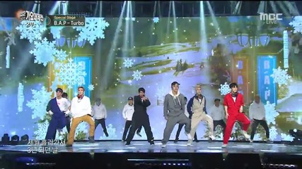 151231 B.a.p - My Childhood Dream + Love Is... @ Mbc Gayo Daejejun - Special stage