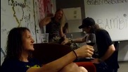 Children Of Bodom with Petri Lindroos - Backstage