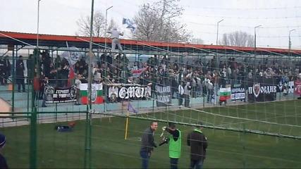 Любимец - Локомотив Пловдив 22.02.2014