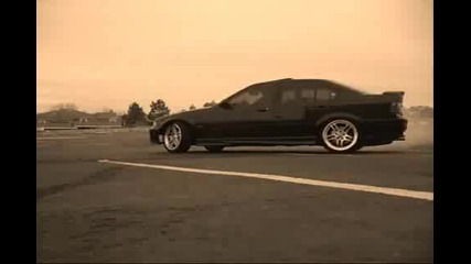 Bmw E36 M3 Burnout
