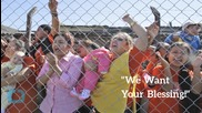 Pope Consoles Inmates at Violent Bolivian Jail...