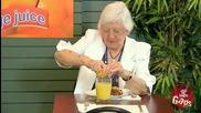 Скрита камера - портокалов сок