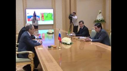 Turkmenistan: Lavrov meets Berdimuhamedow to boost economic and security ties
