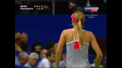 Maria Sharapova Swearing