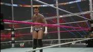 См пънк срещу Райбак и Пол хейман (2 on 1 handicap match) / Ад в клетка 2013